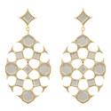 Mirror Drop Earrings, ${color}