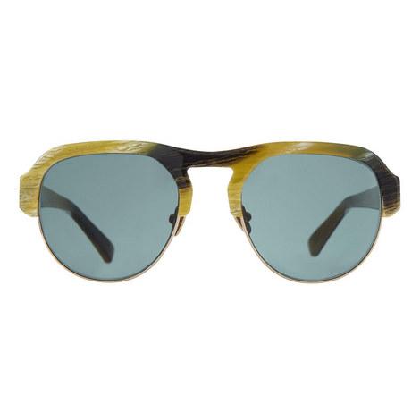 Nomad Circular Sunglasses, ${color}
