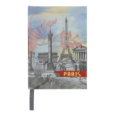 A5 Paris Notebook, ${color}