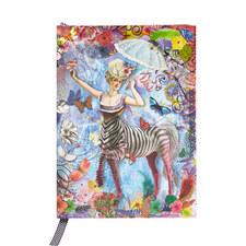 Zebra Girl Pop-Up Notebook