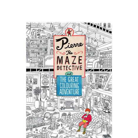 Detective Pierre Colouring Book, ${color}