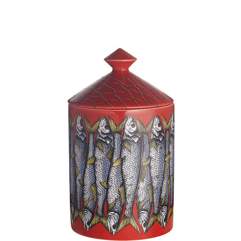 Sardine Rosso Scented Candle 300g, ${color}