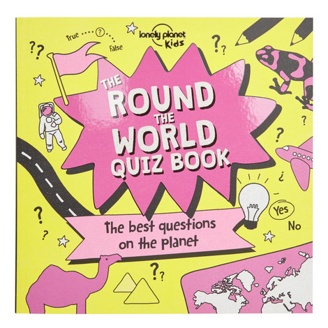 The Round The World Quiz Book, ${color}
