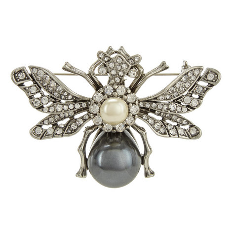 Antique Bee Brooch, ${color}