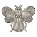 Pearl and Emerald Bee Brooch, ${color}