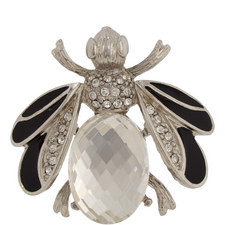 Crystal Bee Brooch