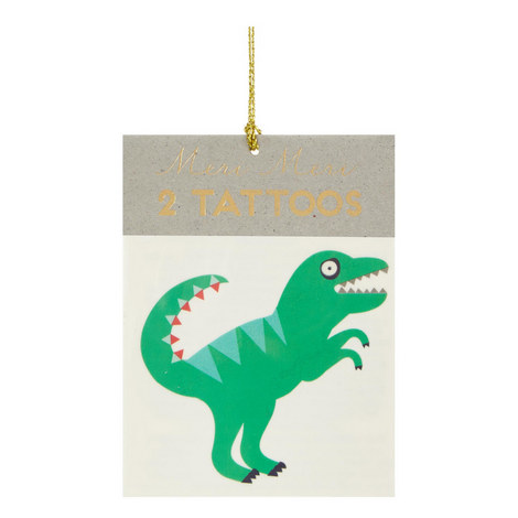 Two-Pack Dinosaur Temporary Tattoos, ${color}