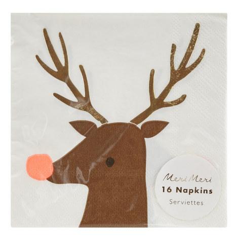 16 Reindeer Napkins, ${color}