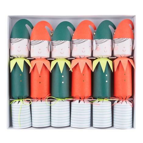 6 Elf Crackers Set, ${color}