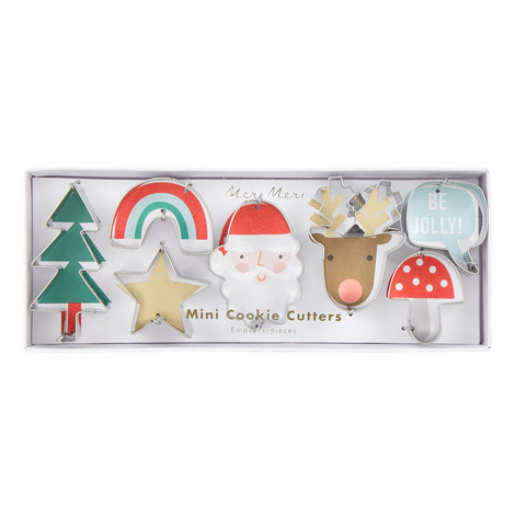 Mini Christmas Cookie Cutters, ${color}