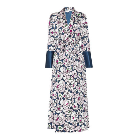 Capability Roxanne Floral Robe, ${color}