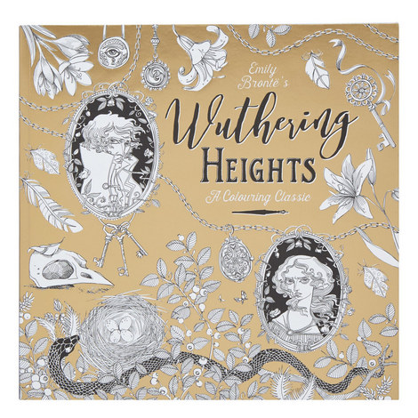 Wuthering Heights: A Colouring Classic, ${color}