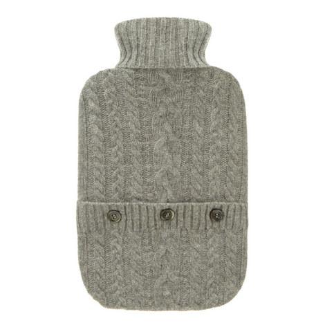 Cashmere Hot Water Bottle, ${color}