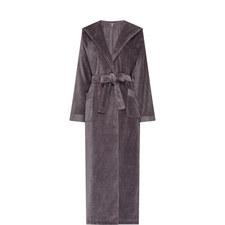 Hooded Velour Robe