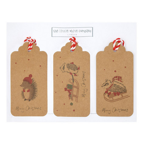Woodland Creatures Gift Tags, ${color}