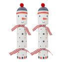 Snowman Crackers Set of 6, ${color}