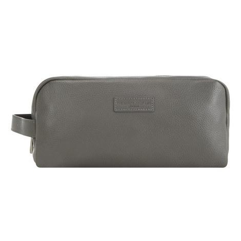 Pebbled Leather Washbag, ${color}