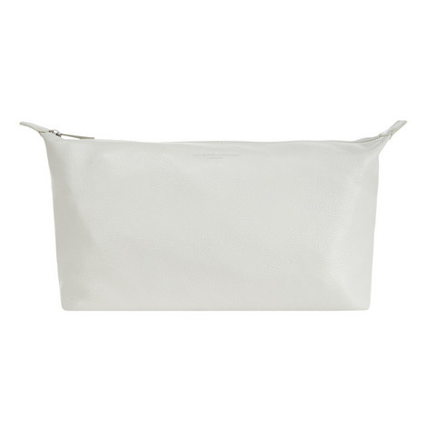 Leather Washbag Large, ${color}