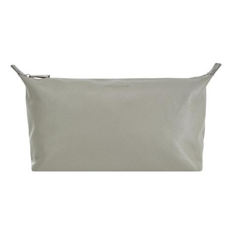 Leather Washbag Large, ${color}