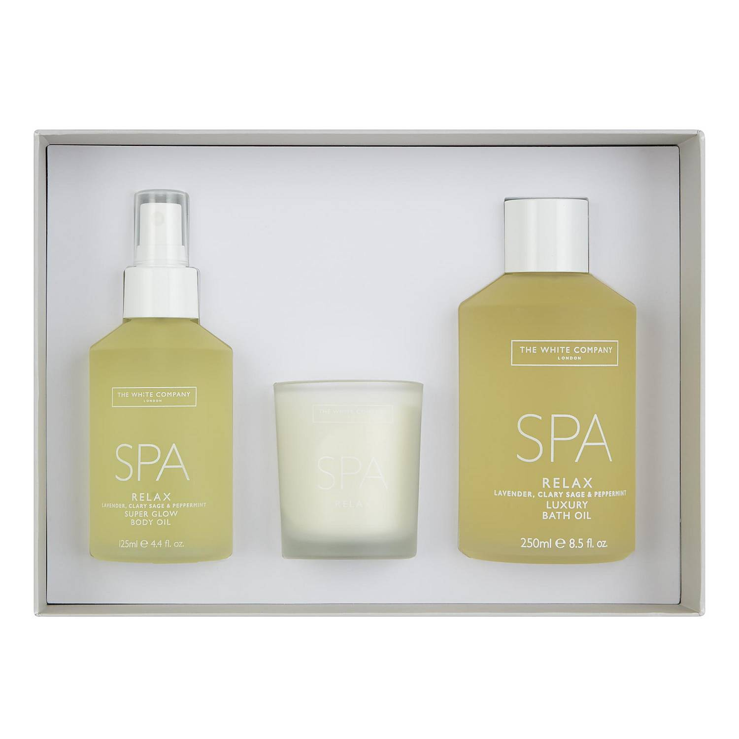 THE WHITE COMPANY Relax Spa Gift Set