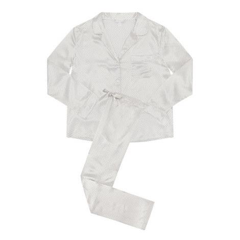 Printed Silk Pyjamas, ${color}
