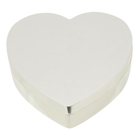 Silver Plated Heart Box, ${color}