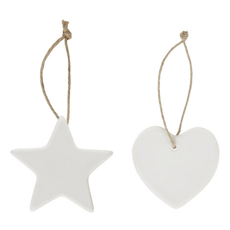 Hearts And Stars Hanging Decorations, ${color}