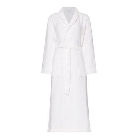 Waffle Textured Robe, ${color}