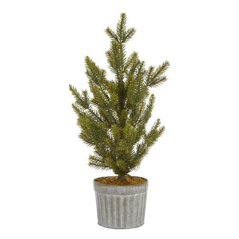 Pre-Lit Nordic Spruce Christmas Tree, ${color}
