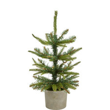 Potted Spruce Christmas Tree Mini