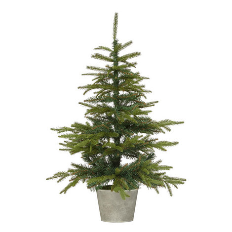 Potted Spruce Christmas Tree, ${color}