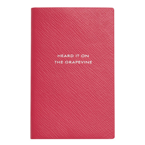 Heard It On The Grapevine Notebook, ${color}