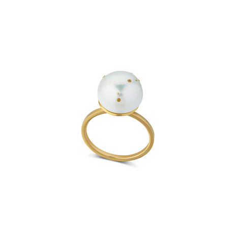 Capricorn Pearl Ring, ${color}