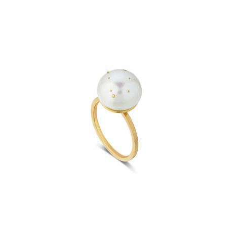 Gemini Pearl Ring, ${color}