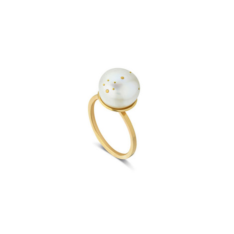 Pisces Pearl Ring, ${color}