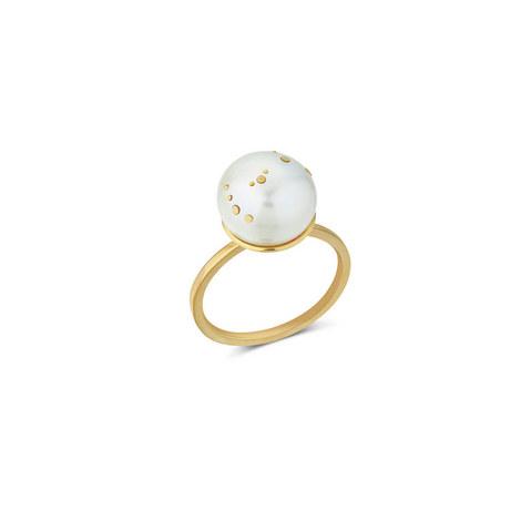 Scorpio Pearl Ring, ${color}