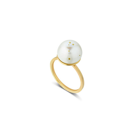 Taurus Pearl Ring, ${color}