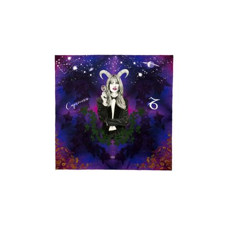 Silk Zodiac Scarf Capricorn, ${color}