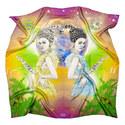 Silk Zodiac Scarf Gemini, ${color}