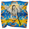 Silk Zodiac Scarf Sagittarius, ${color}