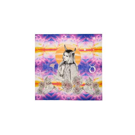 Silk Zodiac Scarf Taurus, ${color}