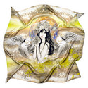 Silk Zodiac Scarf Virgo, ${color}