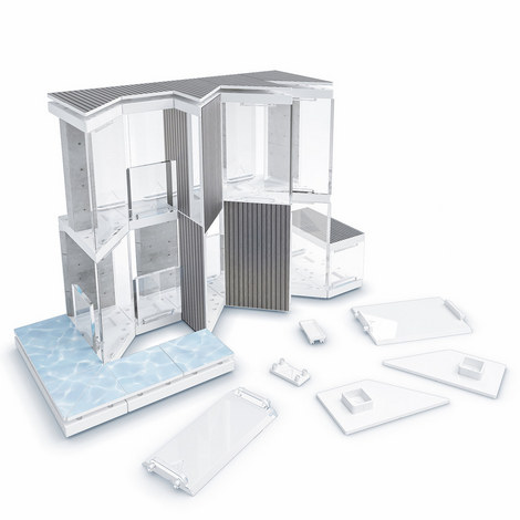 Mini Angle: Model Building Set, ${color}