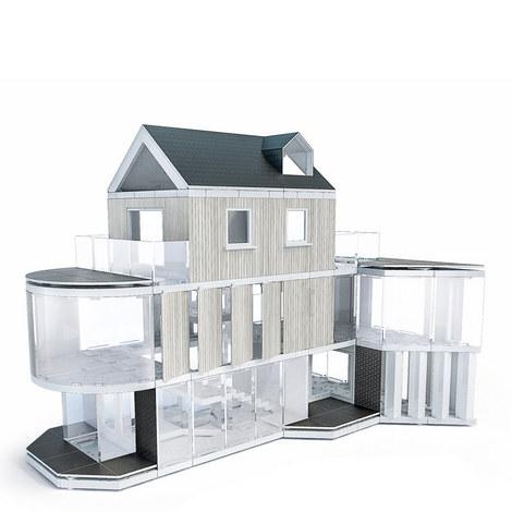 Model Design Building Set 350pc, ${color}