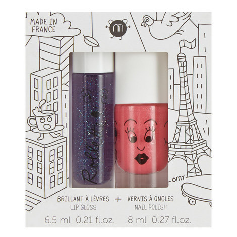 Lovely City Lip And Nail Set, ${color}