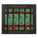 6 Christmas Tree Crackers, ${color}
