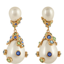 Pasha Pearl Drop Earrings
