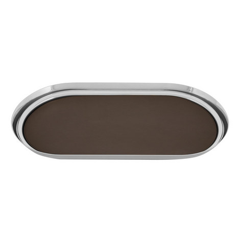 Manhattan Leather Drinks Tray, ${color}