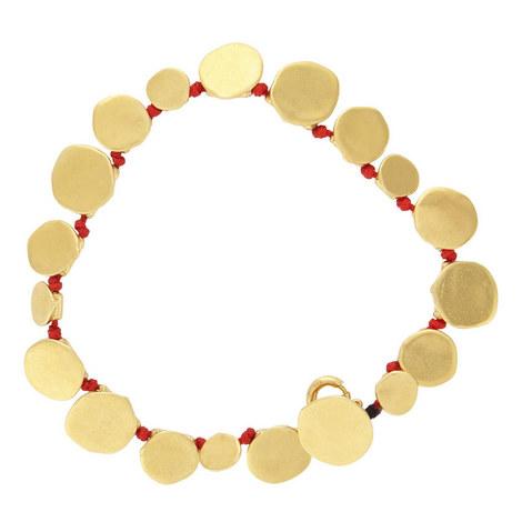 Hammered Coins Bracelet, ${color}