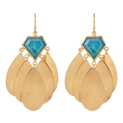 Dia Chandelier Earrings, ${color}
